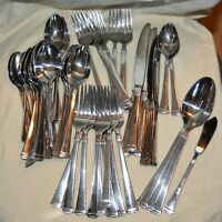 Mikasa forks spoons knives 54 Pieces Stainless Steel Flatware serving