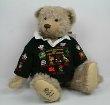 Robin Rive Rugby Teddy Bear, World Cup Rubgy 2007, Limited Edition 77 of only 80