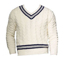 $995 Ralph Lauren Purple Label V Neck Wool Cashmere Cable Knit Cricket Sweater