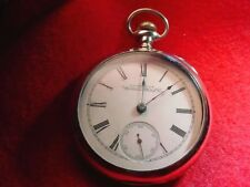 WALTHAM WATCH CO 18 SIZE ORIGINAL KEYSTONE CASE-- POCKET WATCH-GOOD BALANCE#2378