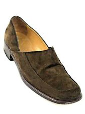 Hermes Authentic Original Classic Women's Brown Loafers Size US. 6 EU 36.5