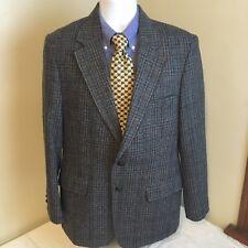 Austin Manor Mens 100% Wool Gray Multicolor Tweed Blazer Sport Coat 40R 40 R FS!