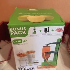 Dash Go Rapid Peeler Green Bonus Pack Vegetable Peeler Fruit Peeler NEW