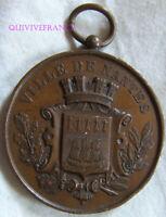 MED9265 - MEDAILLE CONCOURS MUSICAL DE NANTES 1882