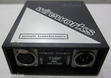 Wireworks TSBF Single Channel Microphone Splitter 1 Direct 3 Isolated Outputs #1