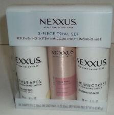 Nexxus 3 Piece Trial Set Replenishing System with Finishing Mist
