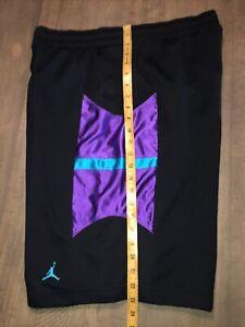 """Nike Air Jordan Basketball Shorts Jumpman Classic 10.5"""" inseam Sz large"""