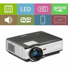 LED Projector 120'' Big Screen Home Cinema Video Xbox Party Movie HDMI*2 USB*2