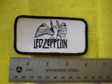 Vintage Led Zepplin Music Band Group Black And White Patch