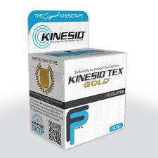 Kinesio Tape Tex Gold 5cm x 5m - Blue - Sports Injury Knee/Wrist/Back/Foot