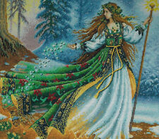 Dimensions Gold WOODLAND ENCHANTRESS Forest Fairy Counted Cross Stitch Kit