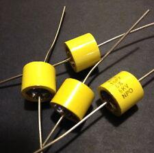 4ea. AVX AC3 Hi-Q Ceramic Doorknob HV Capacitors 15PF 5KV NPO / US MIL-SPEC