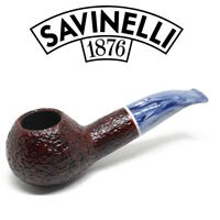 NEW Savinelli - Oceano Rustic - 320 - 6mm Filter Pipe