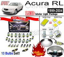 13 Bulbs Super Bright 5630 LED Interior Light Kit Package For Acura RL 1999-2004