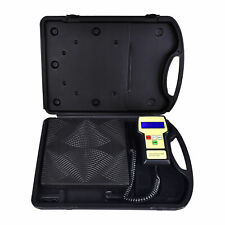 220lbs Hvac Ac Electronic Digital Refrigerant Charging Weight Scale With Case