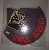 EX/EX THE GEORGIA SATELLITES BATTLESHIP CHAINS Shaped VINYL Picture Pic Disc