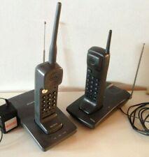 LOT RARE TELEPHONE SANS FIL DESIGN - SONY SPP 560F + PHILIPS D2NS