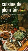 Livre cuisine de plein air au jardin en pique-nique éditions S A E P book