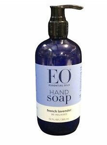 EO Products Liquid Hand Soap French Lavender Essential Oil 12oz(N1)