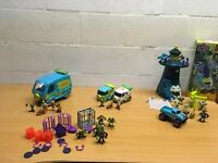 SCOOBY DOO BUNDLE FRIGHT HOUSE FIGURES MYSTERY MACHINE YOU CHOOSE