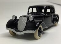 Vintage Dinky Toys Citroen Black 11BL Made In France 24N/Black Hubs &White Tires