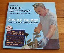Arnold Palmer 1963 LP Golf Instructions From Driver Thru Putter Chris Schenkel
