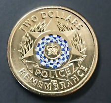 2019 $2 DOLLAR COIN  - *POLICE REMEMBRANCE* - UNCIRCULATED CONDITION