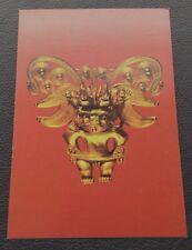 POSTCARD - THE GOLD OF EL DORADO DARIEN PECTORAL MUSEO
