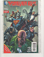FOREVER EVIL #5 COMBO PACK, NM (March 2014, DC Comics, New 52)