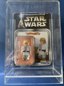 star wars Kubrick  Luke Skywalker moc with case