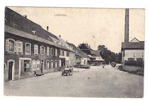 AK Leberau / Lièpvre mit Fabrik und Autos