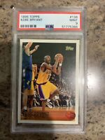 1996/97 topps kobe bryant rookie card 138 psa 9 Los Angelas Lakers Legend