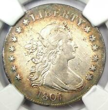 1807 Draped Bust Quarter 25C Coin - NGC XF Detail (EF) - $3,500 Value in XF40!