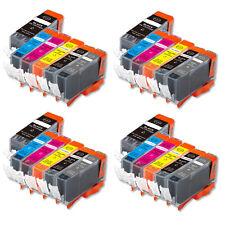 24 Pk Value Ink Set + chip for PGI-225 CLI-226 Canon MG6120 MG6220 MG8120 w Grey