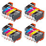 24 Pk Value Ink Set + chip for PGI-225 CLI-226 Canon MG6120 MG6220 MG8120 w Grey