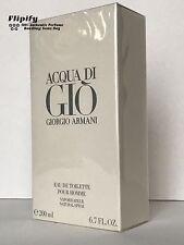 Aqua Acqua Di Gio Eau de Toilette EDT by Giorgio Armani 6.7 oz for MEN