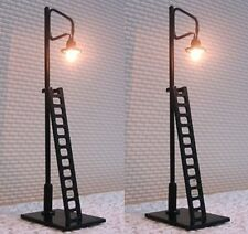 2 x LED Yard Lights with Ladders N Gauge New In Pack SM42-8
