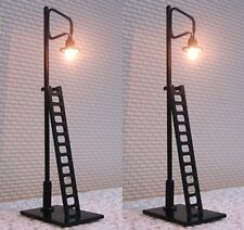 2 X LED Yard Lights With Ladders N Gauge in Pack Sm42-8