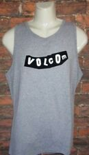 MENS VOLCOM HEATHER GRAY TANK TOP T-SHIRT SIZE XL