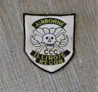 VIETNAM WAR PATCH-5th SFGrp MACV-SOG RT ILLINOIS CCC AIRBORNE RECON - 5th USSF -
