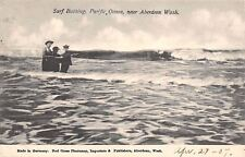 Aberdeen Washington~Somber Trio Surf Bathing~Clothes & Hats~Red Cross Store~1907