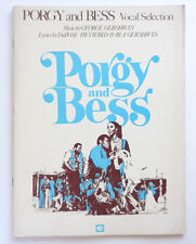 Porgy and Bess Vocal Selection Ira & George Gershwin DuBose Heyward 1976