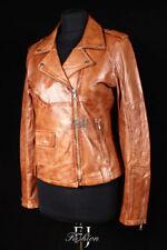 Manteaux et vestes motard en cuir pour femme taille 40