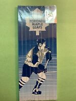 NHL Toronto Maple Leafs Vintage Pencil Crayons , Square Cut Still In Plastic