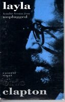 Eric Clapton Layla 1992 Hard Classic Rock Roll Cassette Tape Single Pop