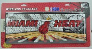 Miami Heat Wireless Keyboard Computer Team Fan Desktop USB Mac PC Basketball
