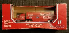 BILL ELLIOTT #11 BUDWEISER RACING 1/87 PREMIERE TEAM TRANSPORTER 1993  B400