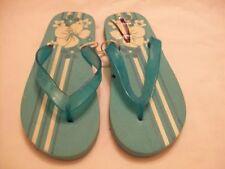 Women's Plastic Floral Flip Flops Sandals & Beach Shoes