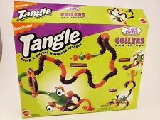 1995 Vintage Nickelodeon Tangle Toy Set Coilers and Things Set New In Box RARE!