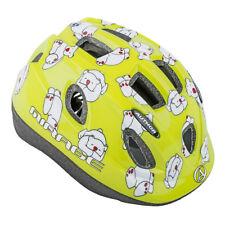 AUTHOR fietshelm Mirage kinderenhelm maat S 48cm-52cm ijsbeer Dial-Fit lichtgroe